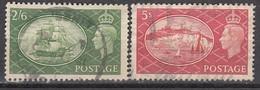 GB 1951 - MiNr: 251 + 252   Used - 1902-1951 (Könige)