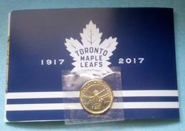 CANADÁ - 1 DOLLAR/DOLAR 2017 - 100 ANIVERS. DE MAPLE LEAF DE TORONTO - ORIGINAL DE CANADIAN MINT IN BOLSITA DE PLÁSTICO - Canada