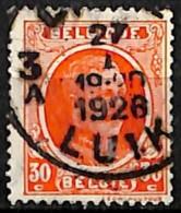 [830180]Belgique 1922 - N° 199, 30c Vermillon, LIEGE-LUIK - 1922-1927 Houyoux