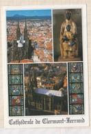 9AL488 CATHEDRALE DE CLERMONT FERRAND MULTI VUES   2 SCANS - Clermont Ferrand