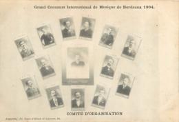BORDEAUX GRAND CONCOURS INTERNATIONAL DE MUSIQUE 1904 - Bordeaux