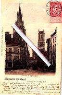 Souvenir De Gand - Rue De La Catalogne - Carte Colorée - Gent