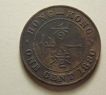 Hong Kong 1 Cent 1880 - Hong Kong