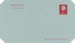 Nederland - 1967 - 45 Cent Juliana En Profil, Luchtpostblad G18 - Ongebruikt - Postwaardestukken