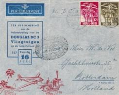 Nederlands Indië - 1937 - Jamboree Set On Special Flight From LB Balikpapan/3 To Rotterdam / Nederland - Nederlands-Indië