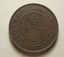 Hong Kong 1 Cent 1905 - Hong Kong