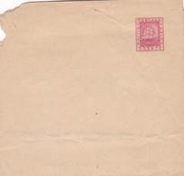 ENTERO ENTIER STATIONERY WRAPPER FAJA POSTAL BRITISH GUIANA 2 CENTS CIRCA 1890 UNUSED - BLEUP - Guyane Britannique (...-1966)