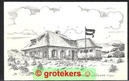 CADZAND Villa Leopold Dependance Van HCR Zeebad Met Nota Hfl 4,50 Voor Logies/ontbijt. - Cadzand