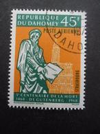 DAHOMEY Poste Aérienne N°73 Oblitéré - Bénin – Dahomey (1960-...)