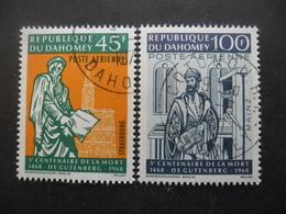 DAHOMEY Poste Aérienne N°73 Et 74 Oblitérés - Bénin – Dahomey (1960-...)