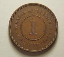 Straits Settlements 1 Cent 1887 - Monnaies
