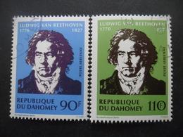 DAHOMEY Poste Aérienne N°132 Et 133 Oblitérés - Bénin – Dahomey (1960-...)