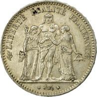 Monnaie, France, Hercule, 5 Francs, 1876, Paris, TTB+, Argent, Gadoury:745a - France