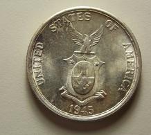 Philippines 50 Centavos 1945 S Silver - Philippines