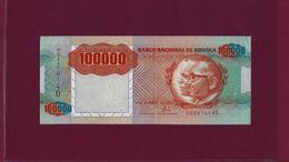 Portugal ANGOLA 100000 KWANZAS 1991 P-133 UNC - Angola