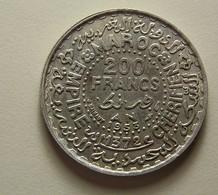 Morocco 200 Francs 1953 Silver - Maroc
