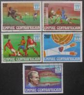 CENTRAFRIQUE Série N°315 Au 319 Oblitéré - Centrafricaine (République)