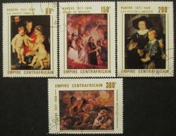 CENTRAFRIQUE Série N°320 Au 323 Oblitéré - Centrafricaine (République)