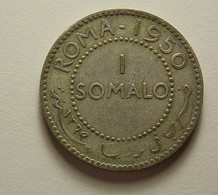 Somalia 1 Somalo 1950 Silver - Somalie