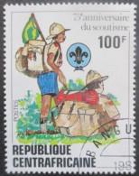CENTRAFRIQUE N°491 Oblitéré - Centrafricaine (République)