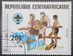 CENTRAFRIQUE N°493 Oblitéré - Centrafricaine (République)