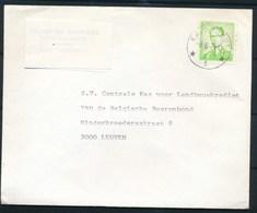 """BELGIE - Enveloppe - Cachet Depot-relais  """"KALMTHOUT 5"""" - (ref. BR-18) - 1953-1972 Lunettes"""