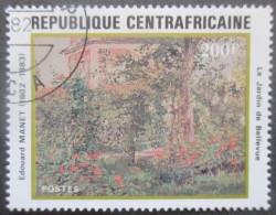 CENTRAFRIQUE N°507 Oblitéré - Centrafricaine (République)