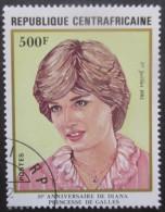 CENTRAFRIQUE N°510 Oblitéré - Centrafricaine (République)