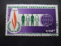 CENTRAFRIQUE Poste Aérienne N°55 Oblitéré - Centrafricaine (République)