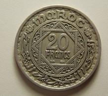 Morocco 20 Francs ''1366'' - Maroc