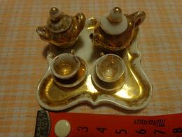 Service A Cafe -dinette- Et Service A Toilette - Pour Poupee -miniature - Autres