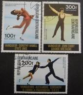 CENTRAFRIQUE Poste Aérienne Série N°150 Au 152 Oblitéré - Centrafricaine (République)