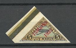 Estland Estonia 1923 Michel 42 MNH Nice Margin Exemplar - Estonia