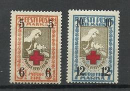 Estland Estonia 1926 Michel 60 - 61 * - Estonia
