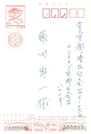 1990 , JAPÓN , TARJETA ENTERO POSTAL , CIRCULADO - Enteros Postales