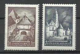 Jugoslavija KROATIA Kroatien 1941 Michel 347 - 348 Briefmarkenausstellung Zagreb MNH - 1931-1941 Königreich Jugoslawien