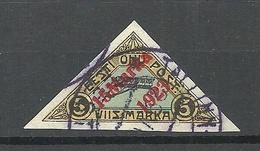 Estland Estonia 1923 Michel 42 O Signed Mikulski - Estland