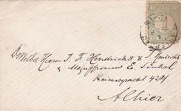 ENVELOPPE CIRCULEE  AN 1899 NEDERLAND A ALLIER. AUTRE MARQUE - BLEUP - Brieven En Documenten