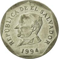Monnaie, El Salvador, 25 Centavos, 1994, British Royal Mint, TTB, Nickel Clad - El Salvador