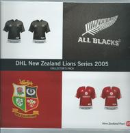 NEW ZEALAND New Zealand Lions Rugby COLLECTORS PACK. 1 FDCS ONE SET Stamps 1set Prepaid Cards  SG2797 - Storia Postale