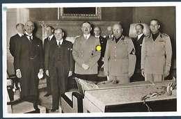 Conférence De Munich 29.09.1938 - Weltkrieg 1939-45