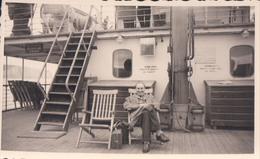Foto Photo (6,5 X 11 Cm) Boot Bateau Prince Baudoin Ostende Douvre Mai 1947 - Bateaux