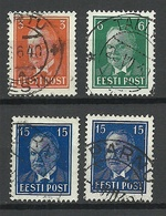 Estland Estonia 1940 Michel 156 - 158 Incl Mi 158 In Both Types MNH - Estonie