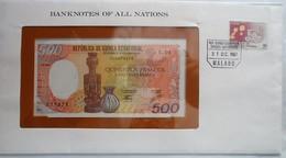 Equatorial Guinea 500 Francs, UNC - Guinea-Bissau