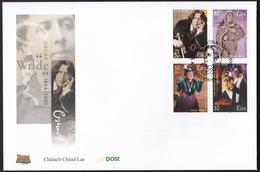 Irland Eire 2000, Oscar Wilde, FDC - Schriftsteller