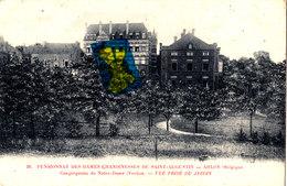 Pensionnat Des Dames Chanoinesses De Saint-Augustin - ARLON (Belgique) - Vue Prise Du Jardin - Arlon