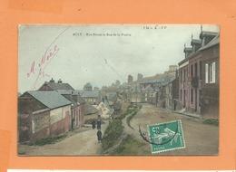 CPA   - Ault  - Rue Neuve Et Rue De La Prairie - Ault