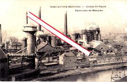 MARCHIENNE-MONCEAU - USINES SAINT FIACRE - Panorama De Monceau - Charleroi