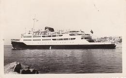 AK Dampfer Fähre - Trasbordador Victoria - Mallorca - 1953 (39697) - Ferries