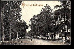 Netherlands Indies Grote Weg Hotel Chemin De Fer Stationshotel Buitenzorg ±  1915 TIO TEK HONG (16-22) - Indonesië